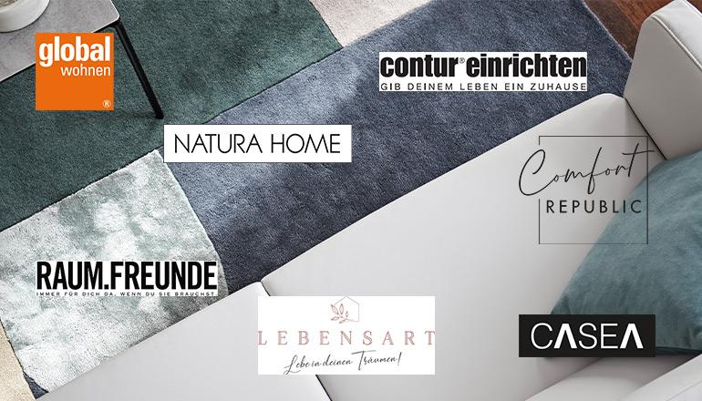 Alle Logos der Kollektionen, die Teil von Homepoet sind